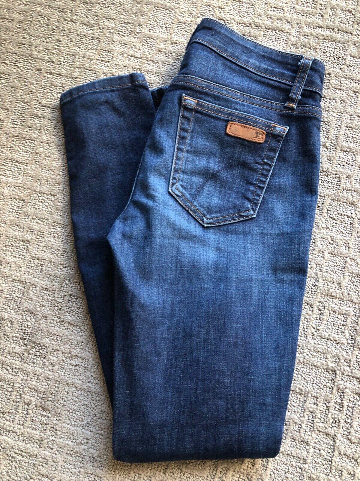 Joe's Jeans Women's Skinny Ankle Jeans, Medium Wash, EUC, Size 25