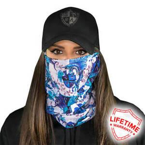 Salt Armour Co Face Shield Tubular Bandana Mask Dunes Hunting Fishing NEW
