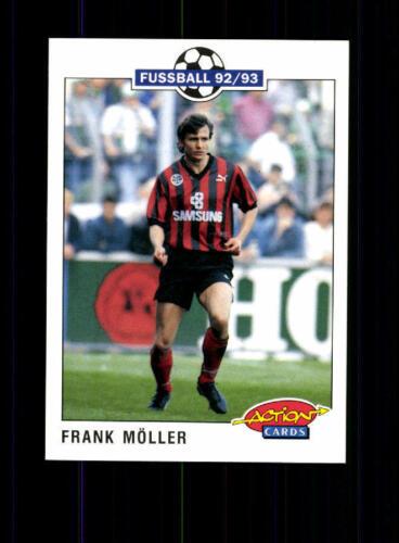 Frank Möller  Eintracht Frankfurt SC Panini Action Card 1992-93 A 183192
