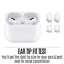 thumbnail 7 - Apple Airpods Pro with Wireless Charging Case Silicone Tips Noise Cancel iPhone