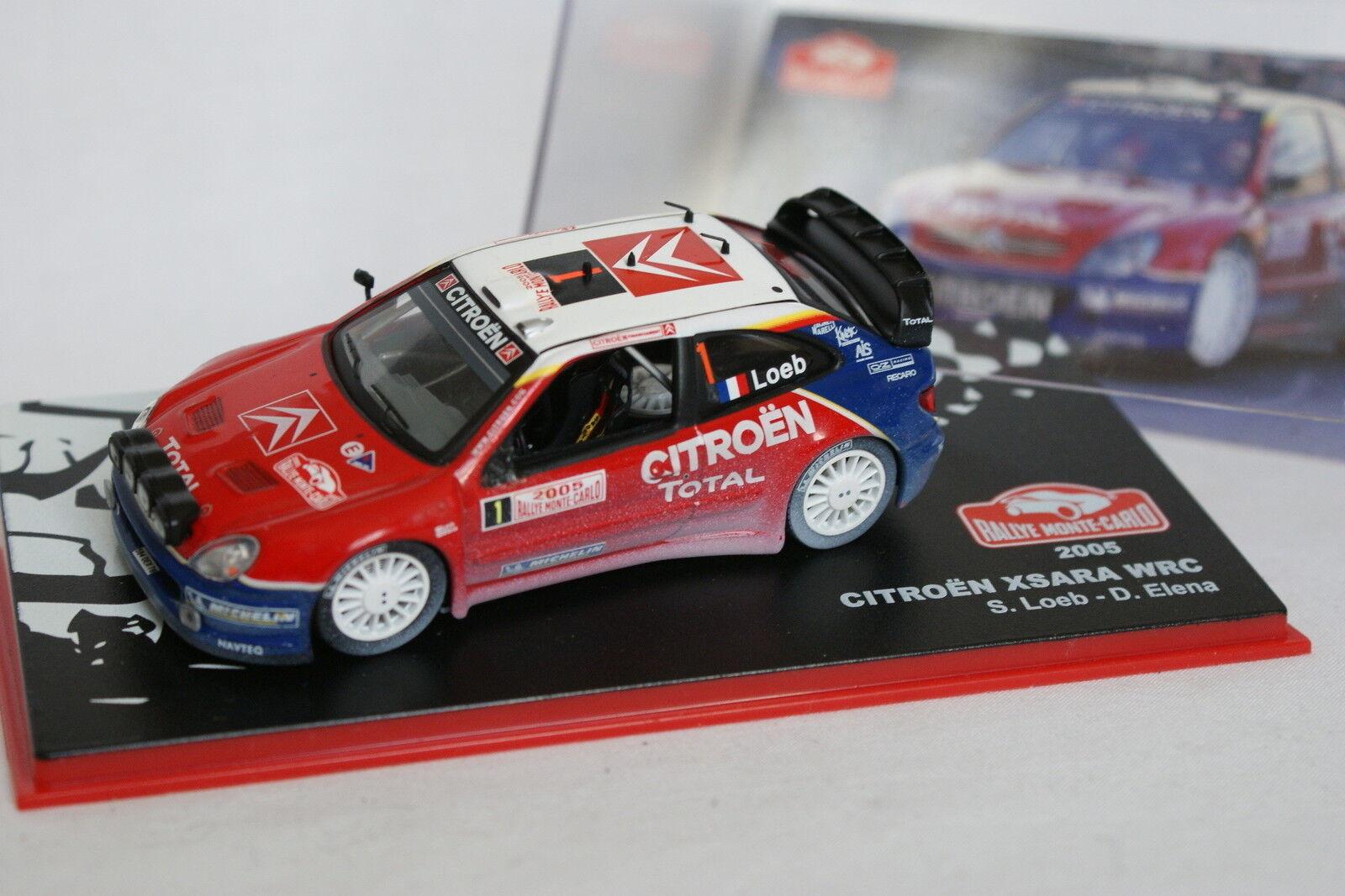 Ixo Press Rally Mounted Carlo 1 43 43 43 - Citroen Xsara WRC 2005 5d7dc1