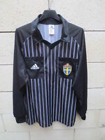 Maillot ADIDAS porté SUEDE S.F.F SWEDEN shirt referee vintage SVERIGE jersey M