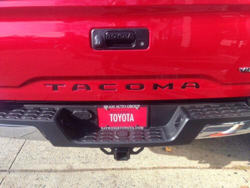 2016 Toyota Tacoma Premium Gloss//Reflective Black Vinyl Tailgate Letter Insert