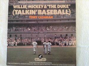 LP-Talkin-Baseball-Willie-Mickey-and-the-Duke-VG-1751