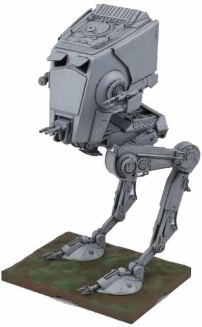 New Bandai Star Wars AT ST 1/48 Plastic Model Kit Free Postage F/S from Japan