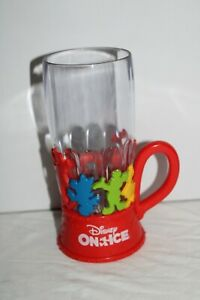 Plastic Glass Disney on Ice with Light - Cup Mug