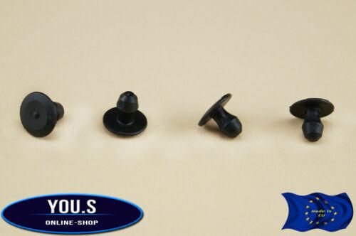 10 X MOTORE cappe Tappetino isolante clip di fissaggio per AUDI 80 /& 90-443823740a