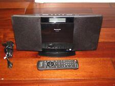 Item 3 Panasonic Compact Stereo System CD IPod Dock AM FM Radio MP3 SC HC20 W Remote