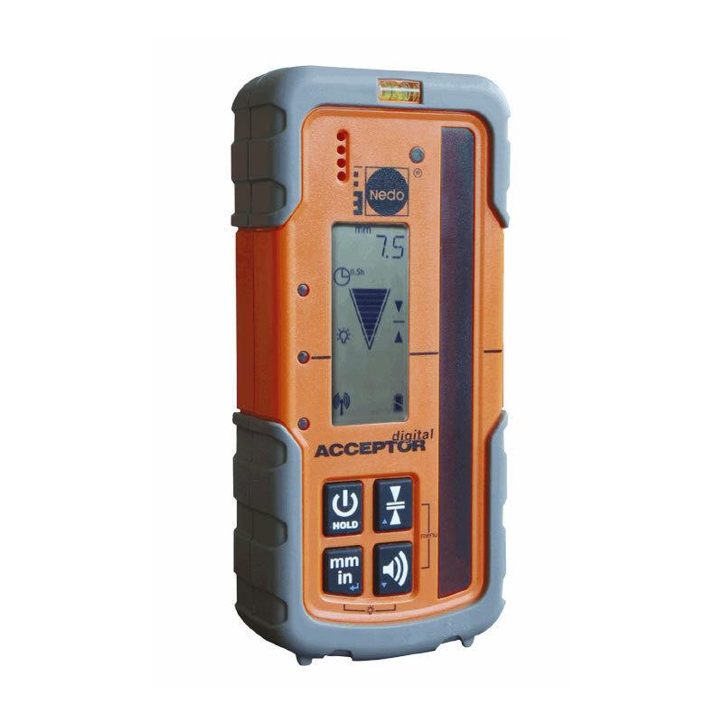 Nedo Laserempfänger ACCEPTORdigital Acceptor digital für Rotationslaser Laser
