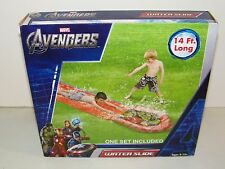 Marvel Avengers Wet N Wild Water Slide 14 Feet Long Outdoor Water Fun New in Box