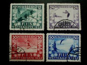 2 ANK 551/54, FIS I, gestempelt,  KW 670,-