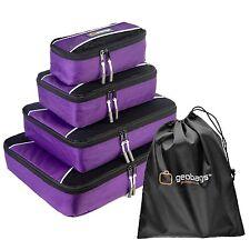 geobags® Premium Packing Cubes - Travel Luggage Organiser Bags - 5 Piece set
