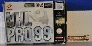 NHL pro 99 Nintendo 64 OVP Konami Sport simulación hockey 1-4 jugadores n64