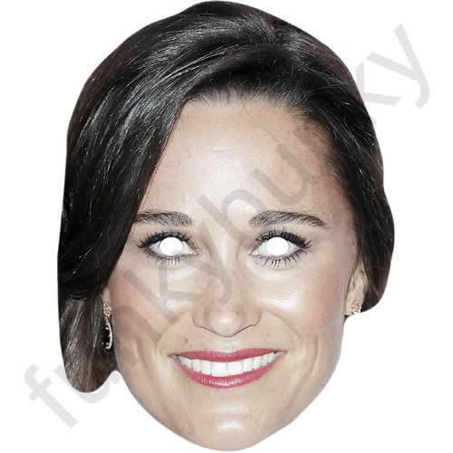 Pippa Middleton ROYAL Celebrity CARTA MASCHERA-tutte le nostre maschere sono pre-tagliati!