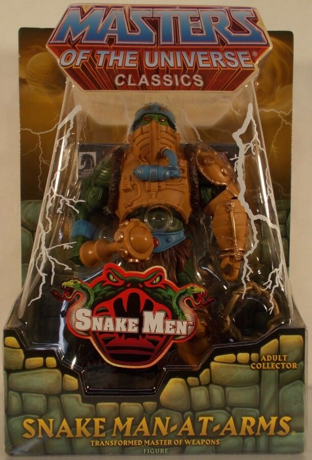 Masters Of  The Universe classeeics Snake uomo-At-Arms With Mailer MOTU uomo At Arms  trova il tuo preferito qui