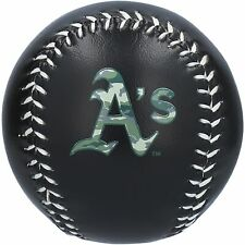 Oakland Athletics Rawlings Team Logo Baseball - Camo