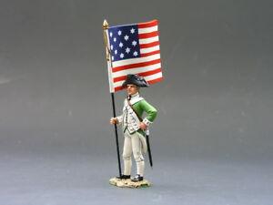 King & Country - Ar51 Flagbearer En Boite D'origine