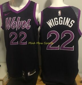 7d68184f2 Image is loading ANDREW-WIGGINS-Minnesota-TIMBERWOLVES-Nike-PRINCE-City- SWINGMAN-