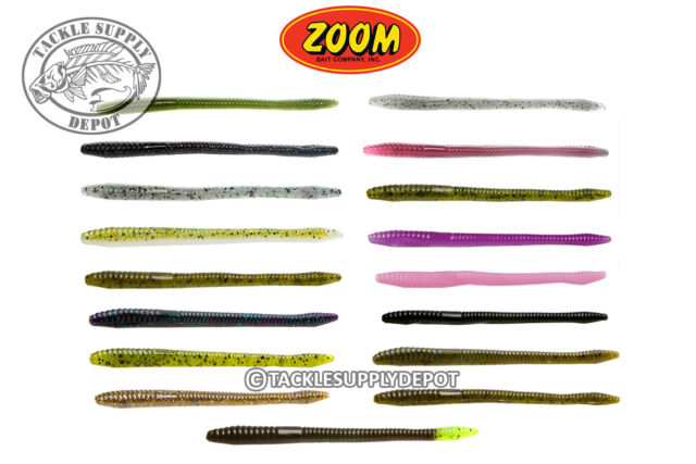Roboworm Straight Tail 4.5in.