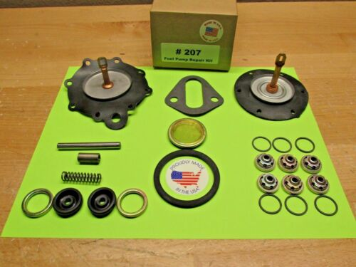 1954 FORD MERCURY 239 V-8 ENGINE DOUBLE ACTION FUEL PUMP KIT FUEL+VACUUM AC#4052