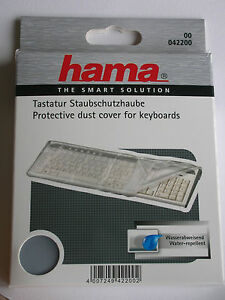 HAMA-PROTECTIVE-DUST-COVER-FOR-KEYBOARDS-WATERPROOF-42200
