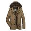 Men-039-s-Warm-Down-Cotton-Jacket-Fur-Collar-Thick-Winter-Hooded-Coat-Parka-Outwear thumbnail 12