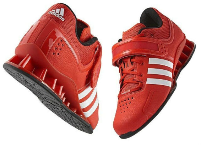 f8c96ce20637 adidas adiPower Powerlifting Platform Shoes Core Energy Red V24382 Sz 16 NWT