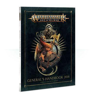 Warhammer Age of Sigmar General/'s Handbook 2018 GW NIB