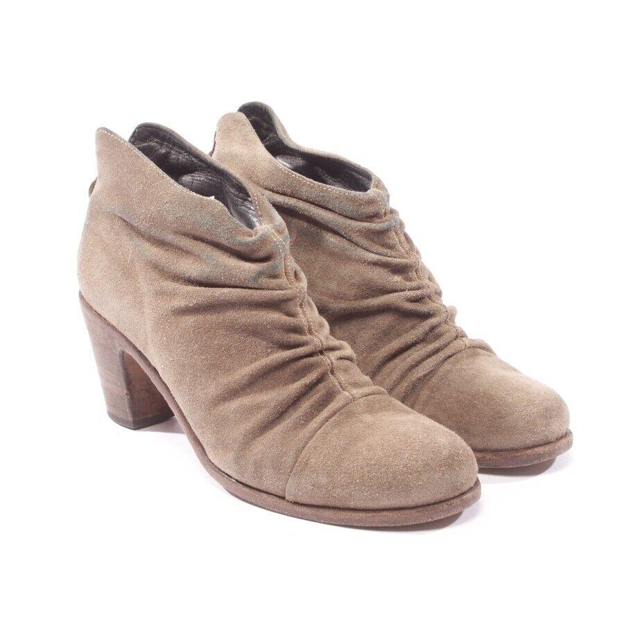 FIORENTINI BAKER Stiefeletten Gr. D 39 Grau Damen Schuhe Stiefel schuhe Leder
