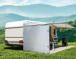 Pop Top Caravan Privacy Screen Sun Shade End Wall Roll Out ...