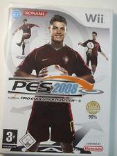 Juego Wii NINTENDO PES 2008, usado pero BUENO