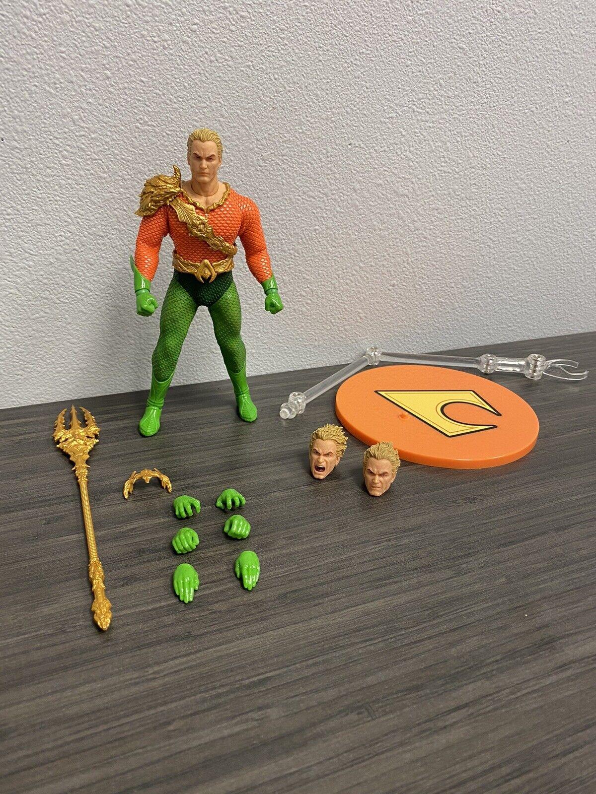 Mezco One 12 Aquaman Figure Loose Complete on eBay thumbnail