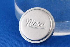 034-selten-034-Nicca-Metal-Cap-40-5mm-034-mint-034-fuer-Nikkor-5cm-f3-5-Leica-l39-Screw-Mount