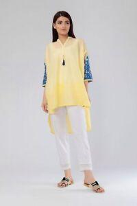 ffe3153926 EID OFFER Khaadi Lawn Kurta Top size 10- Ready to wear- 2018   eBay