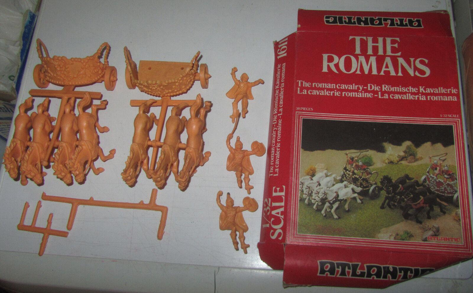 Atlantic Romani Romans Chariot Biga Carretto IN BOX soldatini 1 32 SPESE GRATIS