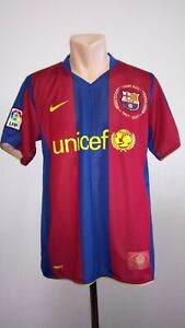 outlet store 09a6a c3345 Details about Football shirt soccer FC Barcelona Home 2007/2008 Nike jersey  camiseta Barca Kit