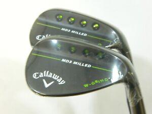 New-Callaway-MD3-Black-wedge-set-52-W-56-W-wedges-AW-SW