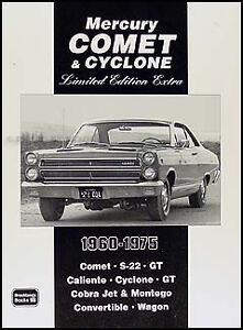 39 articles on Mercury Comet 1961 1962 1963 1964 1965 1966 S22 Cyclone Caliente   eBay