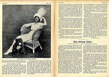 Anna Pawlowa: Aus meinem Leben Autobiogr.Essay mit histor.Aufnahmen von 1912