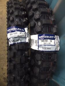 Metzeler-Mid-Hard-Enduro-Tyres-Road-Legal-Pair-21-034-Front-18-034-140-Rear-250-450F