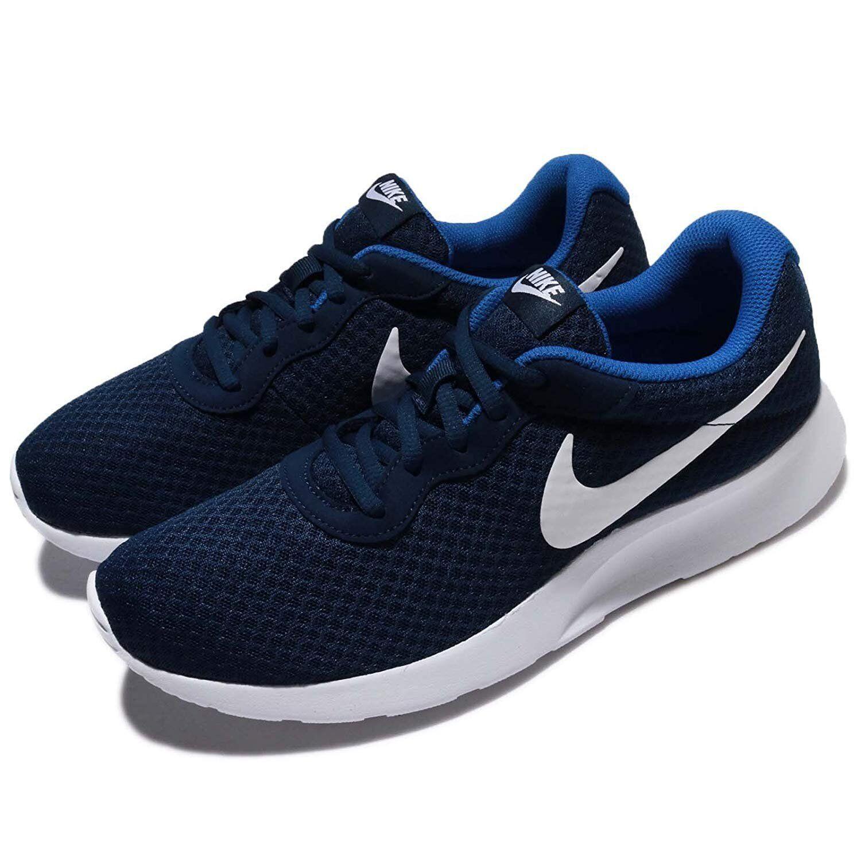 Midnight Azul Marino blancoo-Juego Real Hombre Nike Tanjun Calzado para Correr 812654