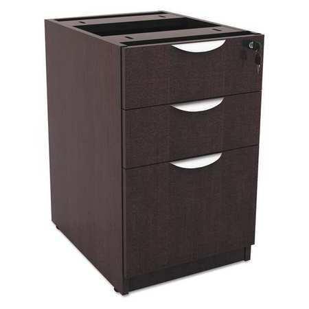"Letter//Legal Espresso ALERA VA532822ES 15-5//8/"" W 3 Drawer Drawer Pedestal"