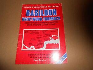 Basildon Brentwood Thurrock Map Street Guide Ordnance Survey Local Red Book - Welshpool, United Kingdom - Basildon Brentwood Thurrock Map Street Guide Ordnance Survey Local Red Book - Welshpool, United Kingdom