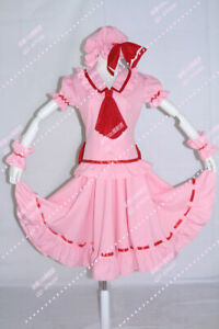 Touhou Project Remilia Scarlet Cosplay Costume Dress