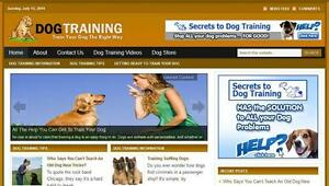 Dog-Training-Affiliate-Website-Free-Installation-Free-Hosting