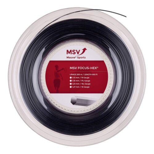 MSV Focus Hex 12m von der Rolle schwarz  ø 1.10mm