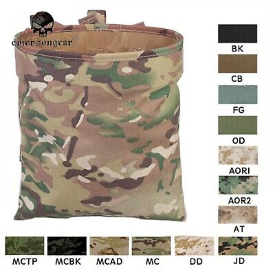 New Airsoft Molle Hunting Magazine Recycle Dump Drop Pouch Bag Coyote