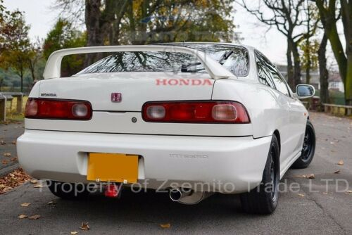 Honda Integra DC2 Type R FRONT AND REAR EMBLEMS JDM Genuine ITR NEW Badges