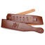 Brown-Adjustable-Soft-PU-Leather-Guitar-Strap-Belt-for-Electric-Acoustic-Bass thumbnail 3