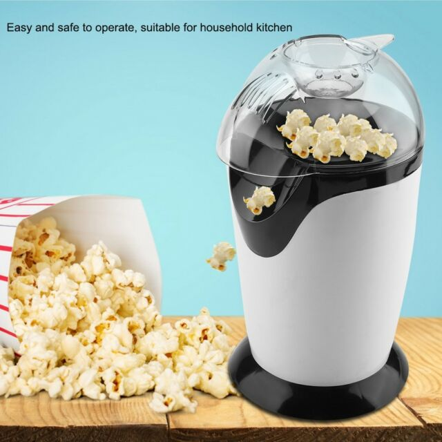 220V Hot Air Popcorn Popper Electric Machine Maker 16 Cups of Popcorn EU Plug